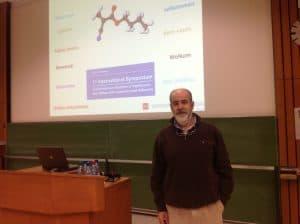 Dr. German Morales en presentación en Europa de Venaseal (tratamiento de Varices con Pegamento)