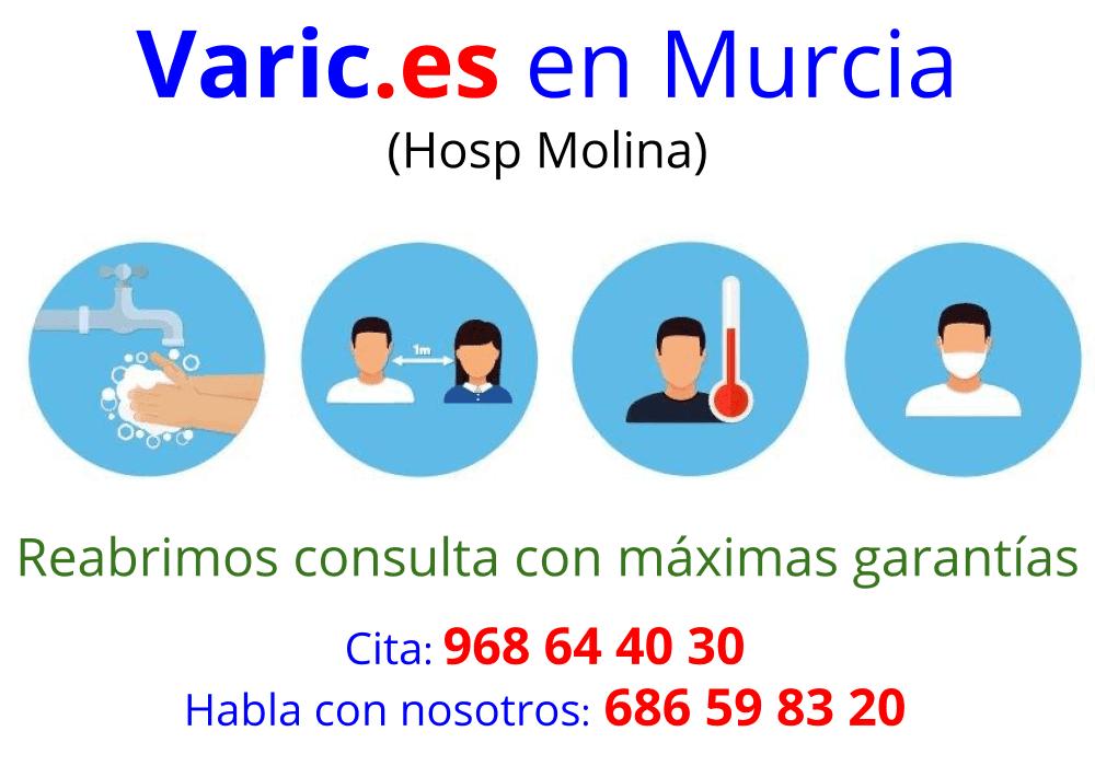 Covid 19 - Varices en Murcia